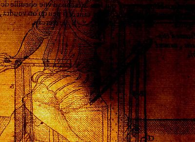 Orthopädie im Mittelalter Orig Holzschnitt um1600 KNOCHEN Physiotherapie Medizin 2