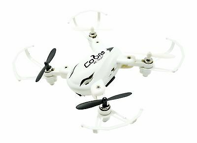 Cobra Rc Toys 2.4Ghz Folding Pocket Drone With Built-In Camera White W/ Warranty