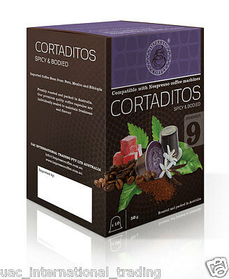 10 x10 Coffee Capsules Nespresso Machine Compatible Pods 2 Blends 5
