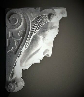 Sad Lady Wall Corbel Bracket Shelf Architectural Accent Home Decor 5