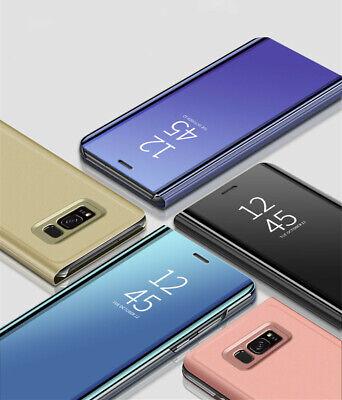 Coque Rabat Miroir Clear View Pour Samsung Galaxy A10 A20E A40 A50 A70 S9 S10 2
