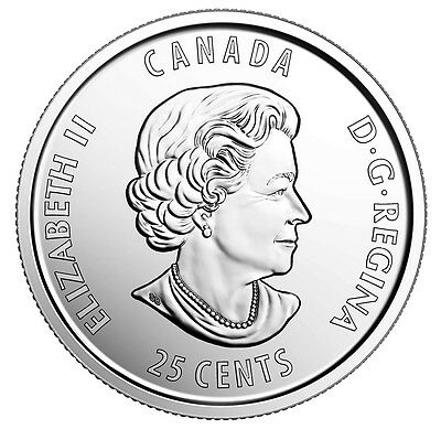 2017 Canada 25¢ 125Th Anniversary Of Stanley Cup Brilliant Uncirculated Quarter 2
