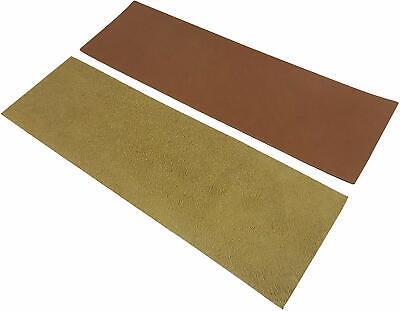 "2 Piece French Leather Strop Kit 3 x 10"" each with 1.2 oz Chromium Oxide 5"