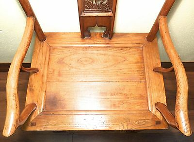 Antique Chinese Ming Arm Chairs (5910) (Pair), Circa 1800-1849 8