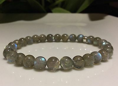 12MM BEAUTY LABRADORITE GEMSTONE A  ROUND 12MM LOOSE BEADS 7.5/""