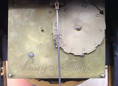Huge 17th / 18th Century French Louis XIV Boulle Cartel Bracket Clock. Not fusee 9