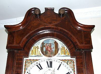 Antique ROCKING FATHER TIME Longcase Grandfather Clock : HAY WOLVERHAMPTON 5