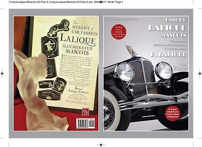 Lalique French Glass Car Mascots,hood,desk Ornaments,trophies,paperweights Book