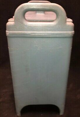Cambro Blue Insulated Soup/Beverage Carrier 350LCD 3.3/8 Gallon Capacity. #1T 6