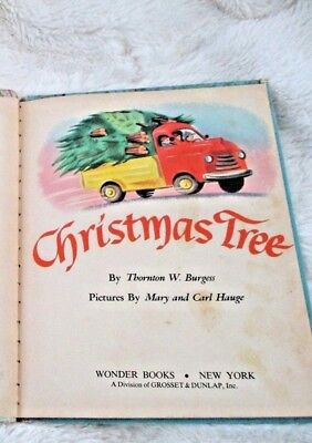 Vintage Children's Book 1975 The Littlest Christmas Tree By Thornton W. Burgess 6