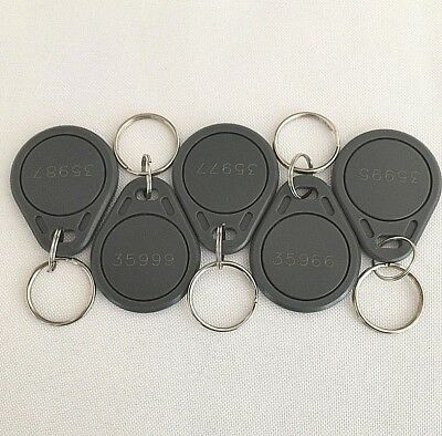 100 Keyfobs Proximity Fob Card Works with HID ProxKey 1346 H10301 26-bit 125kHz