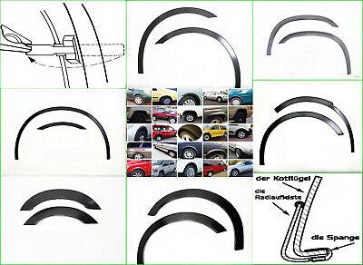 FIAT DUCATO 2 Bj 94-06 Vorne Radlauf Zierleisten Chrom Links Rechts 2 Stück NEU
