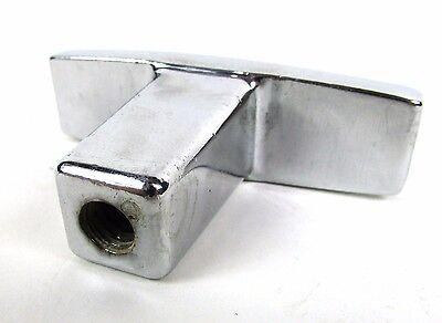 "Heavy Duty Chrome Metal "" HALE "" T Shape Draw Pulls Anchor Ties Hook Cleats"