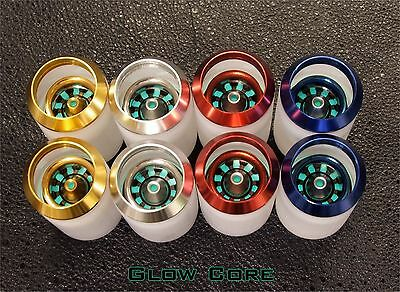 New Custom Lightsaber Blade Plug Mechanical Design Silver Multi Ring Glow Core 3