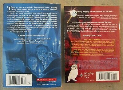 Harry Potter And The Order Of The Phoenix & New Clues To Harry Potter Book 5-Pb 2