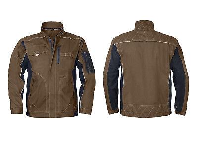 Arbeitsbekleidung Berufskleidung Arbeitshose Arbeitsjacke Latzhose (VIS-OLIV)