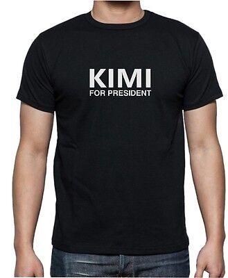 KIMI FOR PRESIDENT - F1 Formula 1 Kimi Raikkonen - Mens Womens Kids T-Shirt 8