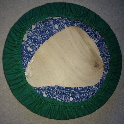 Edwardian Lacemaking 'Cookie' Cushion With Bobbins, Bobbin Roll and Pincushion 4