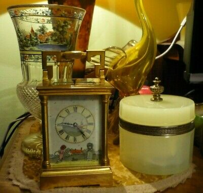 Antique  Couaillet  French Repeater Carriage Clock Around 1870/1900 5