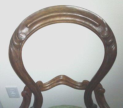 Victorian Side Chair - Boudoir Chair 2