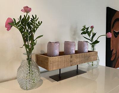 4x Deko-Flaschen Glasvase Tischvase 20cm Set Blumenvase Glasflasche Vase Väschen 7