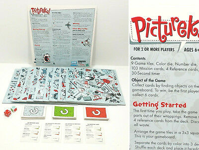 Pictureka Board Game by Parker Brothers Hasbro 2007 Family Fun Age 6 up 4