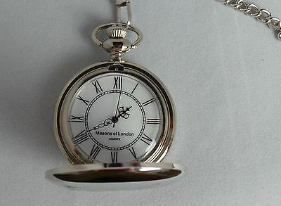0e6d97812 ... REME Royal Mechanical & Electrical Engineers Masons Of London Pocket  Watch 4