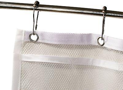 3 Of 6 Shower Curtain Bathroom Organizer
