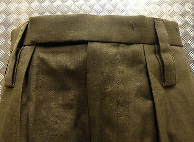 BRITISH ARMY SURPLUS BARRACK DRESS UNIFORM TROUSERS,ARMY ALL RANKS-FANCY DRESS//2