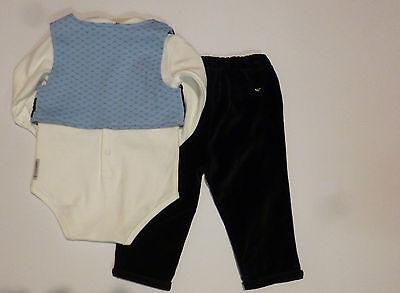 Abbigliamento Bambini - ARMANI Conf.regalo cerimonia gilet+pant+body+papillon 2