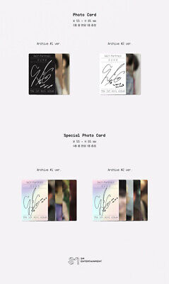 SUHO [자화상/SELF PORTRAIT] 1st Mini Album CD+POSTER+Photo Book+Post Card Set+2Card 10