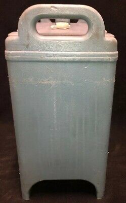 Cambro Blue Insulated Soup/Beverage Carrier 350LCD 3.3/8 Gallon Capacity. #1T 5