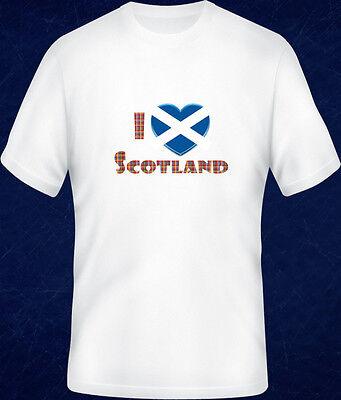 SCOTLAND SCOTTISH FLAG LOVE  I HEART ADULTS TEENAGER ELECTRIC HOODIE HOODY