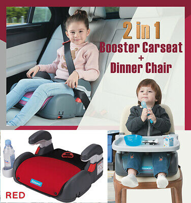 Car Booster Seat Chair Cushion Pad For Toddler Children Kids 3-12 Years Sturdy 11