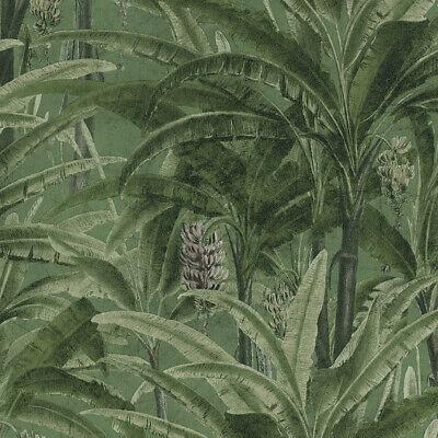 Tapete Vlies Dschungel Blumen grün rot AS Creation Greenery 37216-5 3,75€//1qm