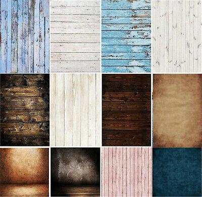 Retro Wood Plank Board Photo Backdrop Photography Studio Background Cloth Screen 3
