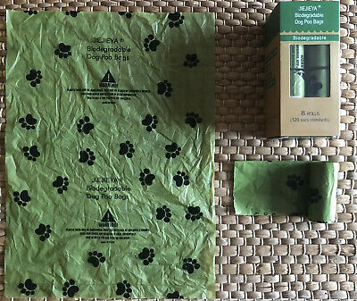JIEJIEYA® The Number 1 Eco-Friendly Biodegradable Compostable Dog Poop Bags 4