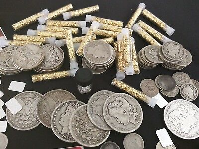 ⚡️Gold and Silver Estate Lot Sale! ✯ Old US Coins ✯ Bullion ✯ .999 Silver Bars⚡️ 4