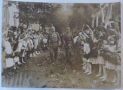 RARE Orig Photo LOT WWI German Soldier Hindenburg 1916 Ludendorff Kaiser Wilhelm 5