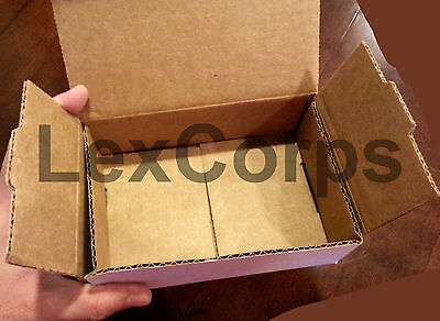 White Corrugated Mailers MANY SIZES 50 100 200 Shipping Packing Fold Box 7