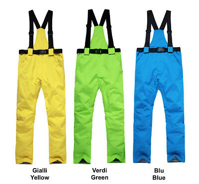 Completo Neve Tuta Sci Donna Giubbotto Set 2 pz Windproof Ski Suit Set CMSW10 P 8