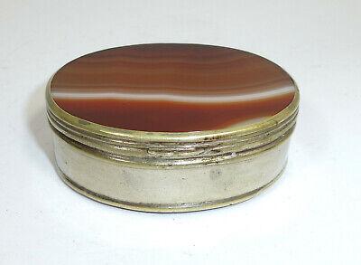 Pill Box um 1900 Can Agate 3