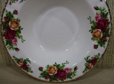 2X Royal Albert Old Country Rose Set 2 Rim Soup Bowls Cereal Bowls Never Use 10