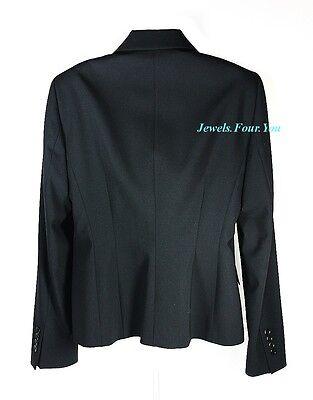 HUGO BOSS COTTON /& WOOL BUSINESS JASMENA BLAZER JACKET SZ 10 BRAND NEW $575.00