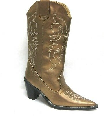 f27e86c128e WOMEN'S WESTERN POINTY Toe Rodeo Cowgirl Cowboy 3