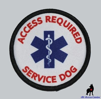 ALL ACCESS CANINE™ Support Animal ESA Dog - Service Dog - Therapy Dog Patches 2