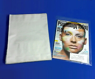 Clear Assorted Sizes Poly Plastic 1-Mil Packing Bags Open Top Baggies 10