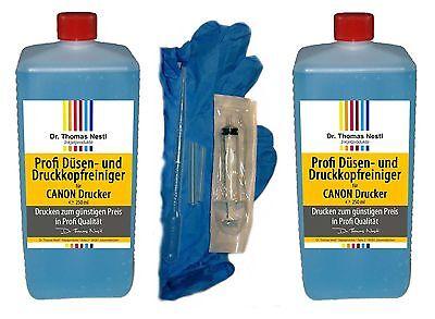 500 ml SET Druckkopfreiniger Druckkopfreinigungskit für CANON wie PIXMA Pro iP