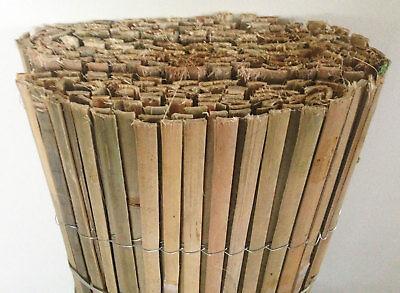 10m x 2m Bamboo Slat Screening -  Screen Roll -  Fence - Garden Fencing Fence 3