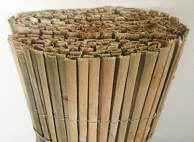 6m x 1.5m Bamboo Slat Screening - Garden Screen Privacy Fencing Panel on Roll 4